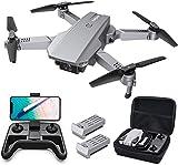 Tomzon D25 RC Drone con cámara 4K, Drone para Principiantes, Posicionamiento de la luz, Fotografía de Gestos con Las Manos, Vuelo de Ruta, Flips 3D, Modo MV, 2 Baterías, Vuelo de 24 Minutos