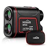 Himimi - Telémetro láser de Golf, medición de la Distancia 3~1000 m, medición de la Velocidad 0~300 km/h, Aumento x6 y Carga USB, Impermeable IP54, para Golf, Caza, Tiro con el Arco